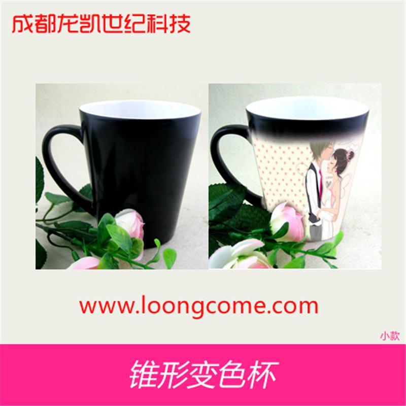 云南昆明热转印杯子上印照片将图印在杯子的机器