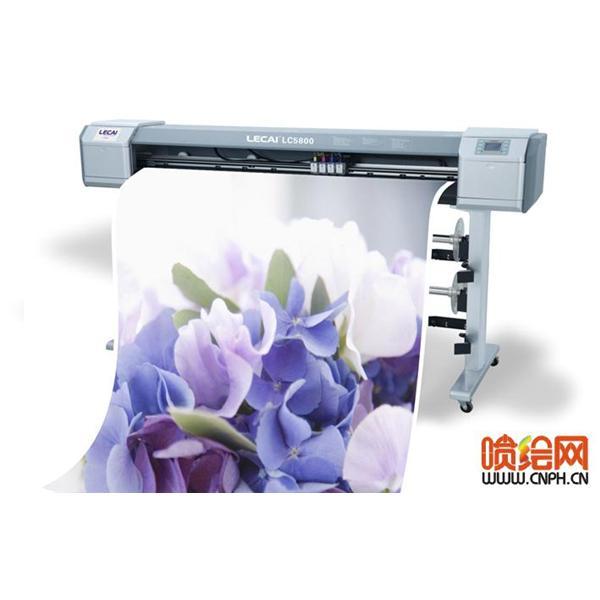 写真机 乐彩5800四色高速写真机 广告设备