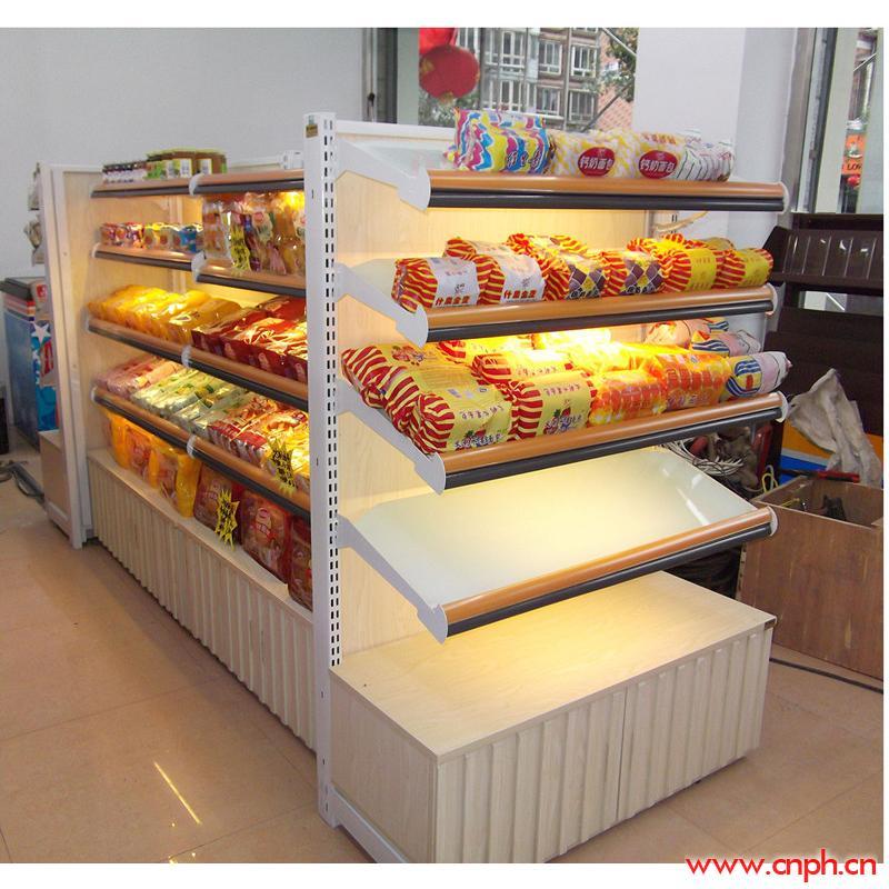 面包架、便利店面包架、超市面包架、面包专卖店货架、食品陈列架、面包中岛架