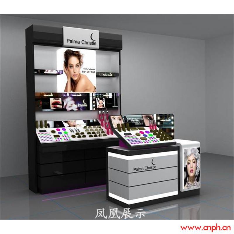 化妝品展示柜制作 化妝品展示柜設計