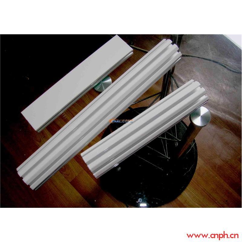佛山大量现货白色屏风铝料,展板型材,八棱柱展板展示铝型材