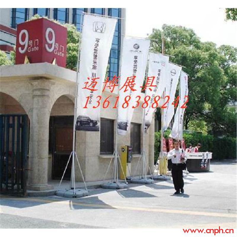 重庆5米广告旗杆 道旗出租 铝合金伸缩旗杆