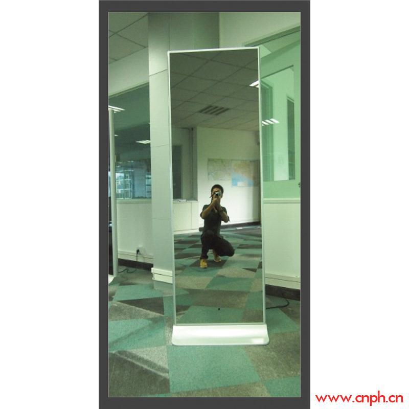 镜面落地式广告机42-55寸/武汉广告机