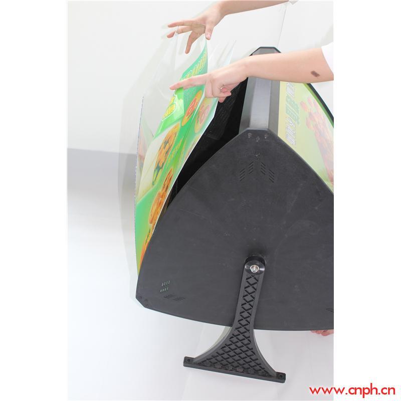 三面弧形点餐灯箱/武汉点餐灯箱