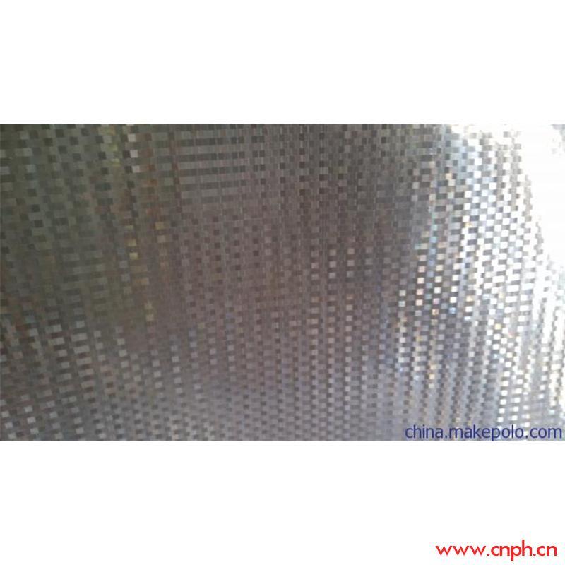 供应闪光片PVC小方格,灯饰玩具闪光材料PVC方格反光片
