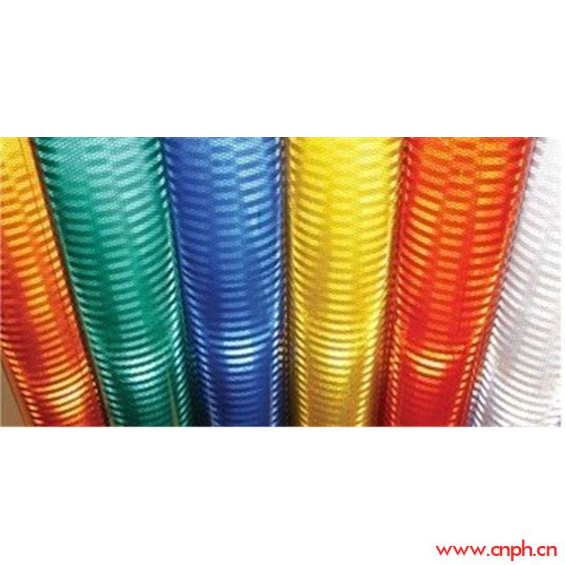 条纹晶彩格反光膜、反光喷绘膜、可喷绘反光膜
