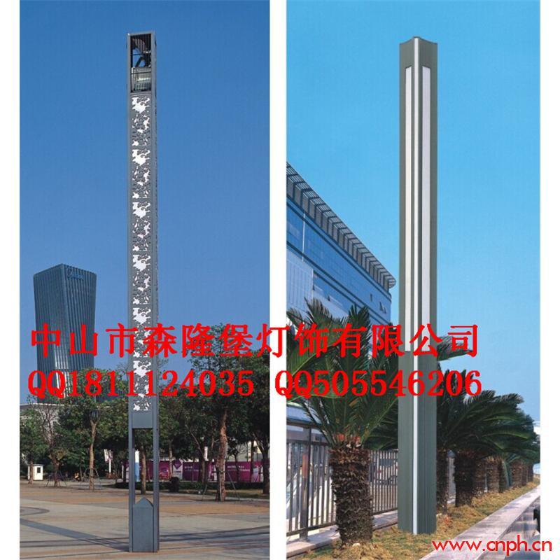 楼盘欧式灯柱广告