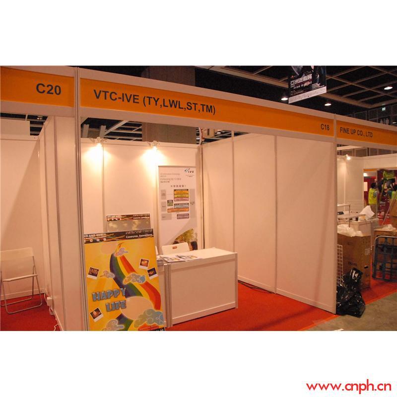 上海会展新款八棱柱屏风展位材料生产直销,9平方展览器材