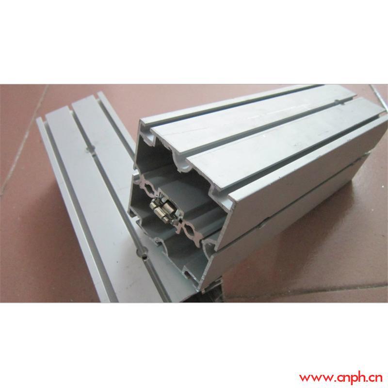 展览优质八分八槽方柱,广东现货方柱铝型材,鑫淼展览铝材